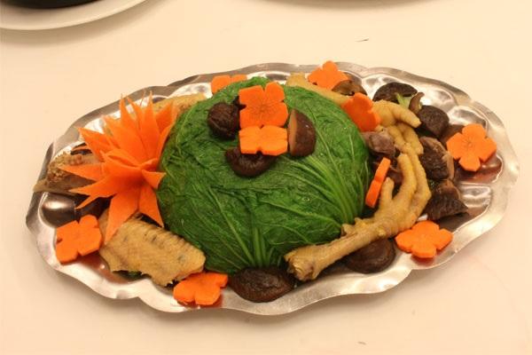 dạy nấu ăn đãi tiệc