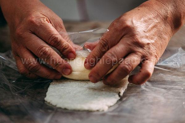 chuối nướng bọc nếp các món ăn vặt chay