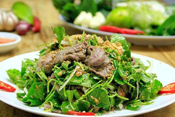 rau má xào thịt bò các món rau xào với thịt bò