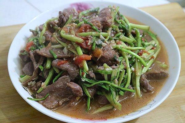 rau ngổ xào thịt bò thịt bò xào rau gì ngon