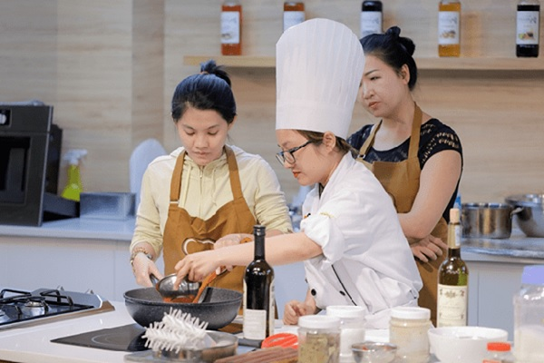 học phí học nấu ăn ở đà nẵng