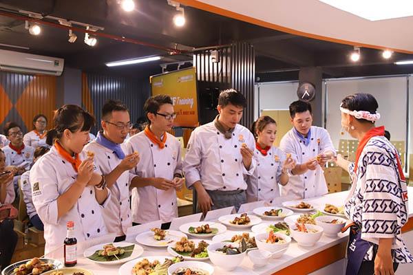 trường dạy nấu ăn tphcm