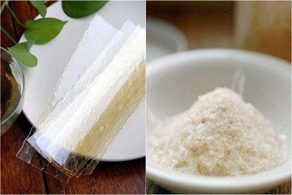 bột gelatin