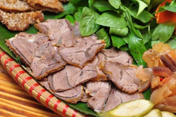 các món ngon từ thịt bò bắp