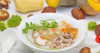 cách nấu cháo dinh dưỡng cho bé