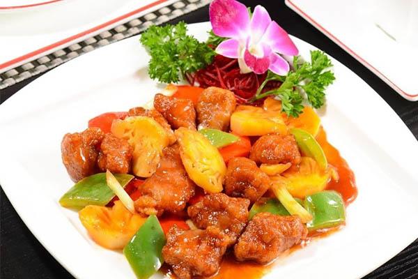 những món ăn ngon từ thịt lợn xào chua ngọt