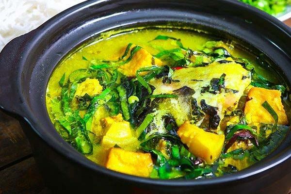 cá lăng om chuối đậu