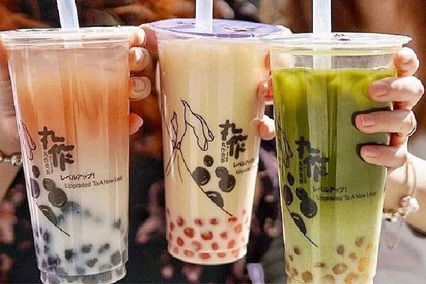 hình ảnh trà sữa trân châu