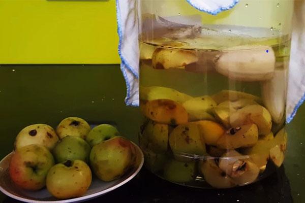 cách làm giấm táo thơm ngon