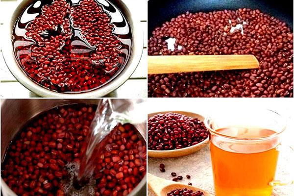 cách nấu nước đậu đỏ