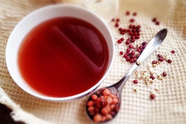 uống nước đậu đỏ có tác dụng gì